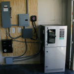Grid Point Battery Back Up System with Transfer Switch