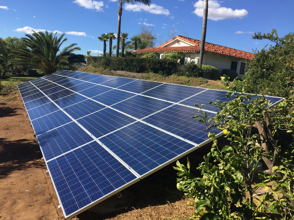 Ground Mounted Solar San Diego Systems Solar Service